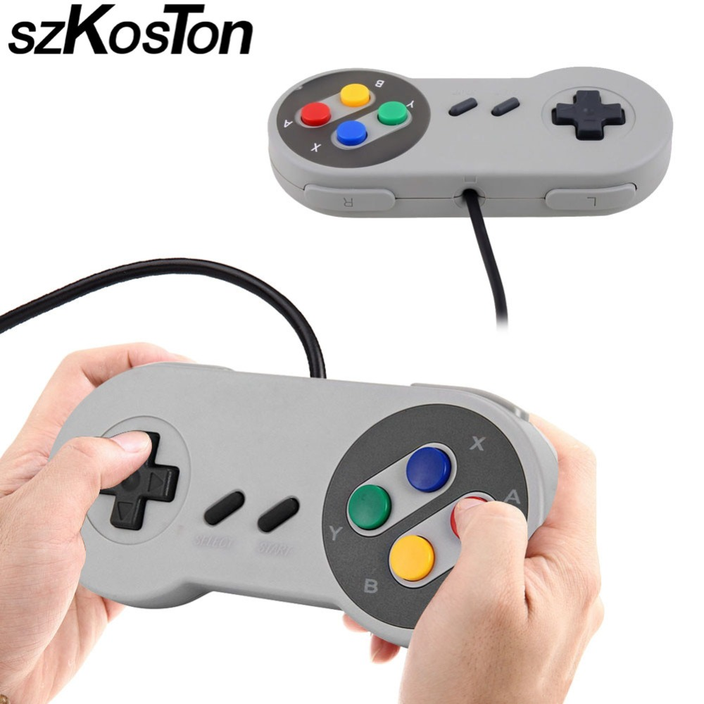 Retro Super Durable for SNES USB Game Controller for Gaming PC for MAC Controllers SEALED for Windows PC