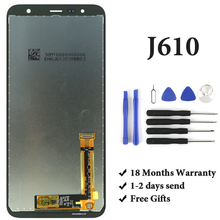 For J610 LCD Display Grade OEM AMOLED With Digitizer Touch Screen Assembly For  J610 LCD Screen 5 5inch touch screen with lcd display assembly screen for senseit e510 digitizer touch screen with lcd display parts