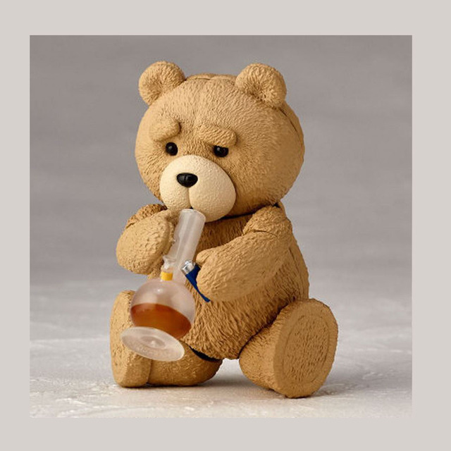Toys For Ted : New in box movie ted teddy bear pvc action figure
