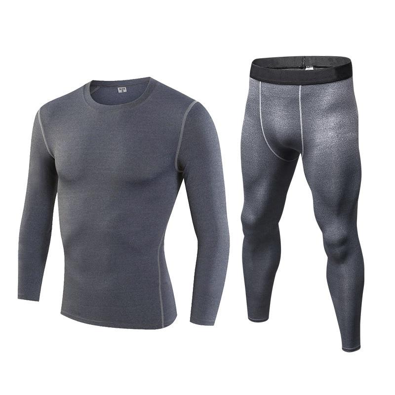4-Компрессионный спортивный комплект из 2 предметов, летняя быстросохнущая дышащая Спортивная одежда для бега для мужчин, спортивная одежда ... смотреть на Алиэкспресс Иркутск в рублях