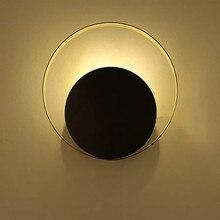 где купить Industrial Loft Copper Ring LED Wall Lamp Bedroom Bedside Living Room Asle Wall Sconce Decoration Light Fixtures Free Shipping по лучшей цене