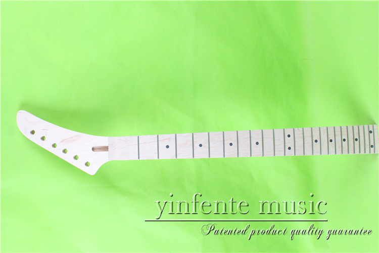 XJ-0071#    right  25.5 Electric guitar neck   Bolt on  maple       fingerboard fine quality  24 fret casio xj m141
