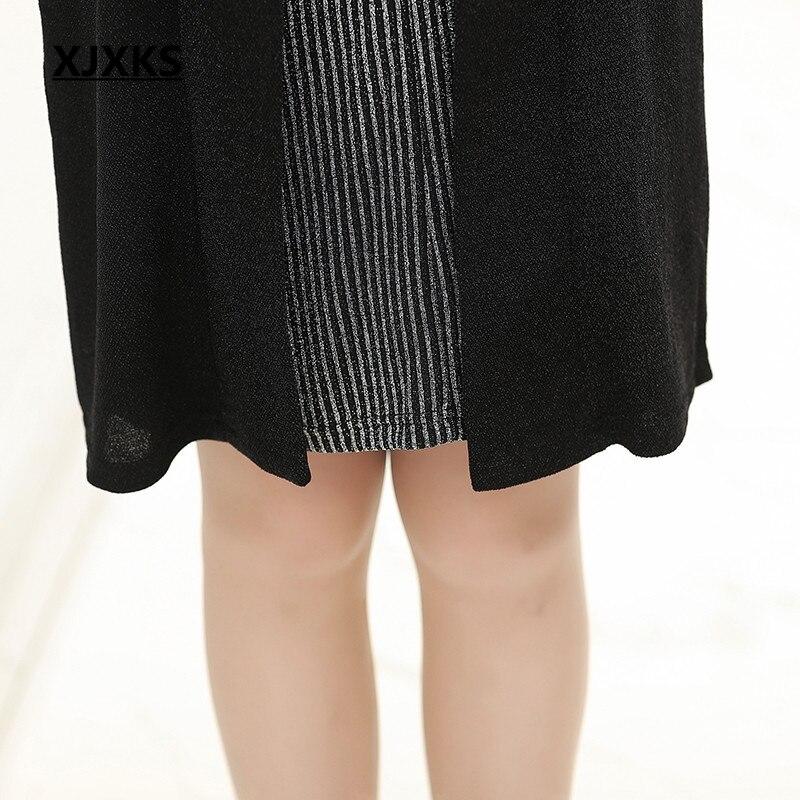 Gratuite Nouveauté Faux Grande Kelly Taille Termine Femmes Robes Haute Sac Livraison 1 Femme Deux Xjxks Chaud Robe se 2 Pièces IWD9H2ebEY