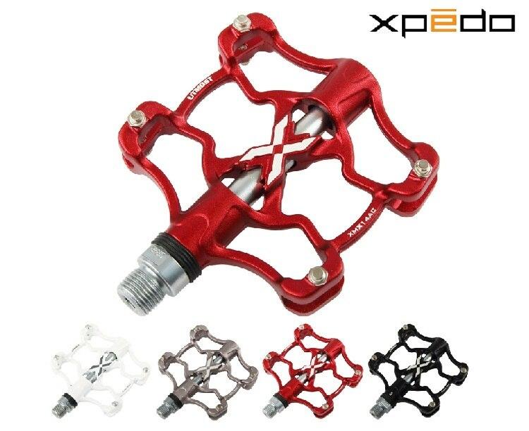 Wellgo Xpedo XMX14AC ultra-léger CNC pédales de vélo vélo de route en alliage d'aluminium pédales de roulement VTT