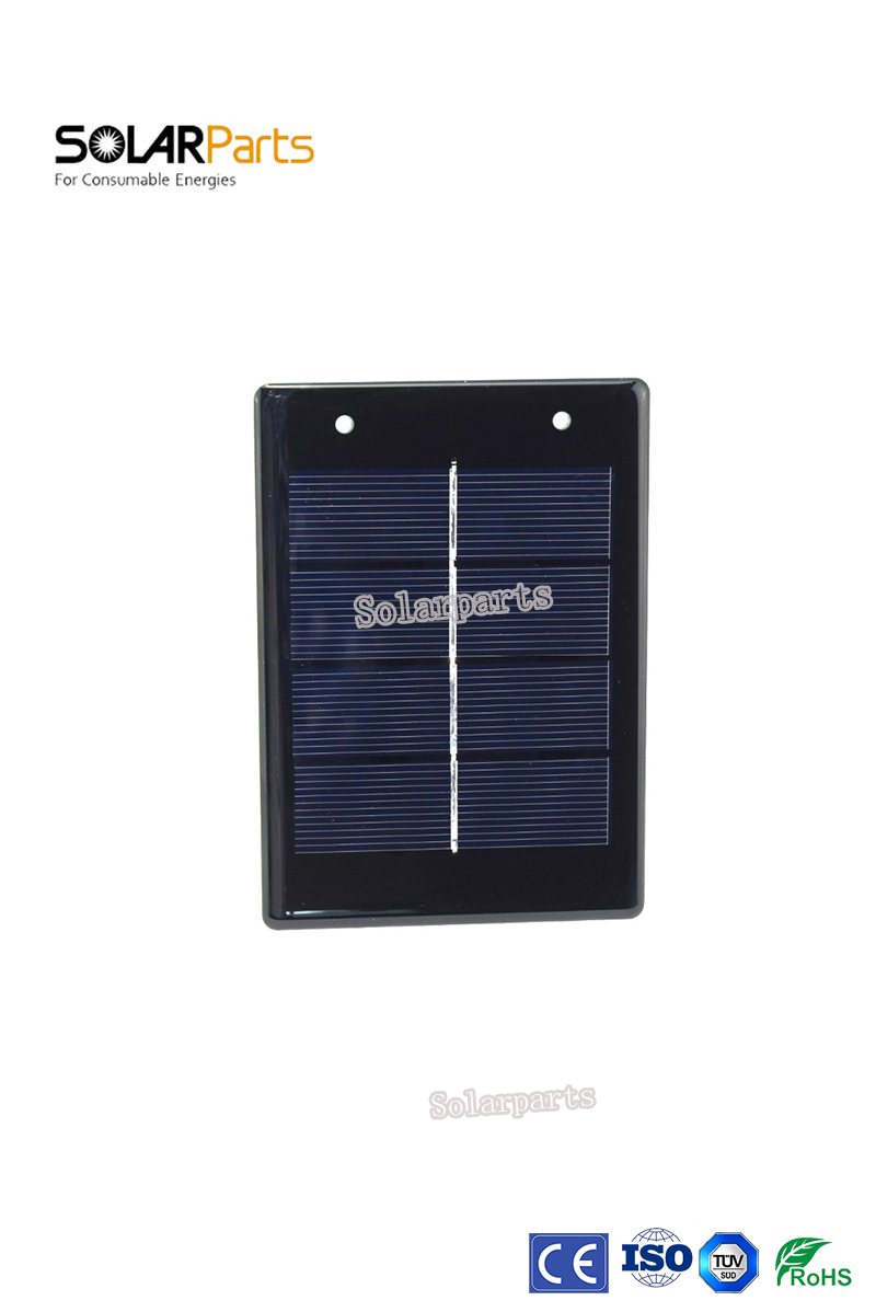 Solarpart 10pcs*2V /600mA Epoxy Resin Polycrystalline Solar Modules factory selling price solar cell panel system module kits di