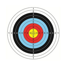 HOT Sale 40cm 60cm Useful Profession Archery Targets Paper Full Ring Beginner Bow Arrow Gauge Shooting Target