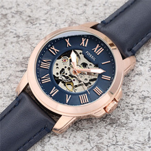 FOSSIL Automatic Watch for Men top brand luxury Retro Business Mechanical Wristwatch