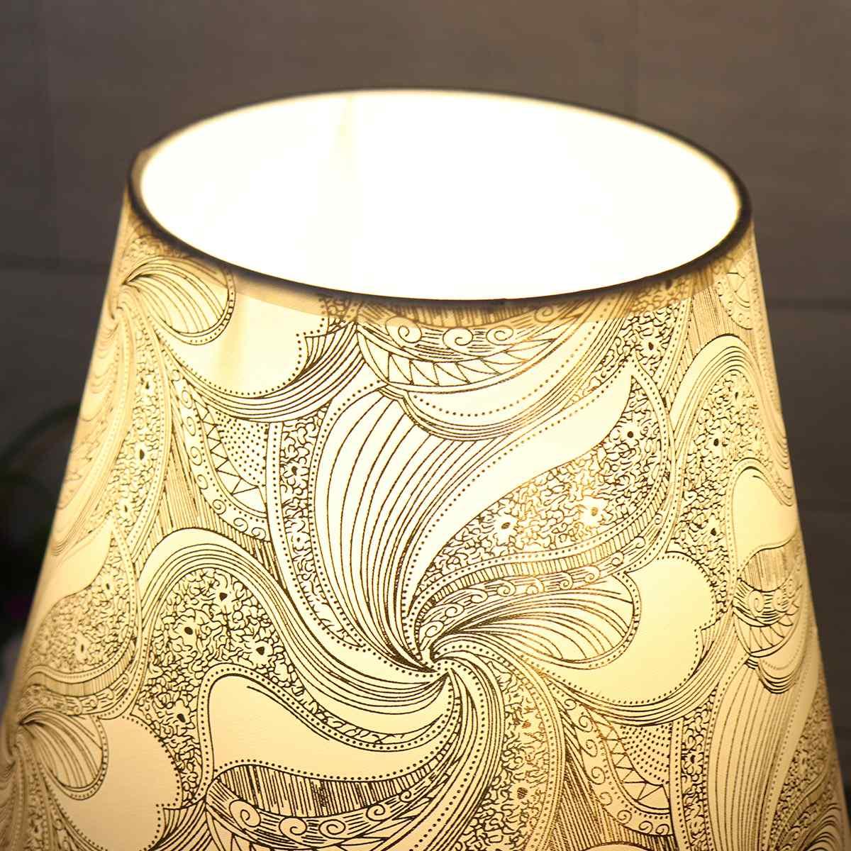 mesa com e27 lâmpada lâmpada de cabeceira