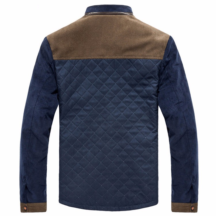 Men\'s Jackets and Coats Ouerwear Casual Patchwork Plus Size Slim Fit 2016 Brand New Cotton Polyester High Quality Men Jacket11