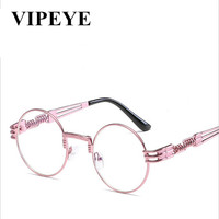 2017 NEW Fashion Sunglasses Women Brand Designer Metal Frame Sun Glasses Vintage Mirror Shades Glasses TR90