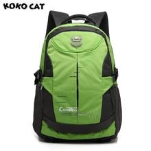 Kokocat Для Мужчин's Водонепроницаемый большой Ёмкость 16 дюймов Сумка для ноутбука Оксфорде рюкзак свежий панелями сумка рюкзак для Для женщин Школьные сумки
