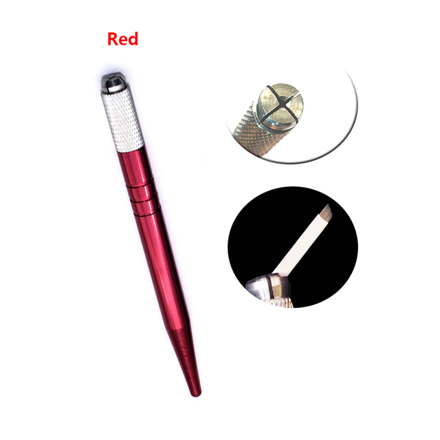 20pcs Microblading Pen Kit Caneta Tebori Perfect Wires Microblading Classic Manual Eyebrow Tattoo Gun 2