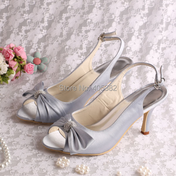 ФОТО Wedopus MW799 Women Shoes Thin Heels Sandals Open Toe Bride Party Pumps with Bowtie