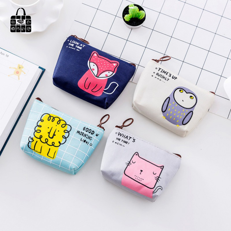 1 pcs Rose Diary New cute animal canvas coin purses zipper zero wallet child girl boy women purse,lady coin bag key packet ougold girl cylindrical character zipper new fashion coin purses mini portable headphones cute zero wallets