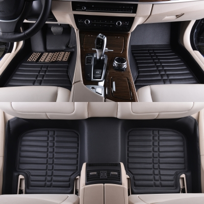 car foot mats auto floor rug and carpets brown beige for Chevrolet Blazer SPARK SAIL EPICA AVEO LOVA cruze Optra 560 610 630 730 high quanlity special custom fit car floor mats for chevrolet sail sonic aveo captiva malibu cruze cars tyling carpet liners rug