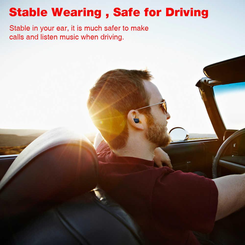 UCOMX U6E Wireless Earphone dengan 1000 M Ah Pengisian Kotak Mini Bluetooth Earphone In Ear Monitor Earbud Earpiece untuk Iphone Samsung