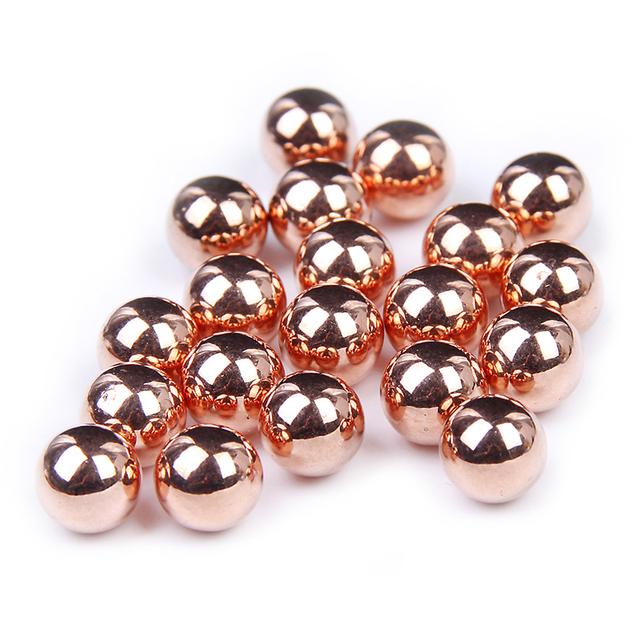 Saco a granel de Cobre 5mm-10mm Glitter Resina Contas Imitação de Pérolas Redondas Sem furo Para Roupas Sapatos DIY decorações de natal Novo Design
