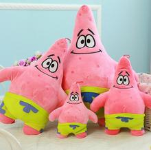 18cmSponge Bob Baby Toy Spongebob And Patrick Plush Toy Soft Anime Cosplay Doll For Kids Toys