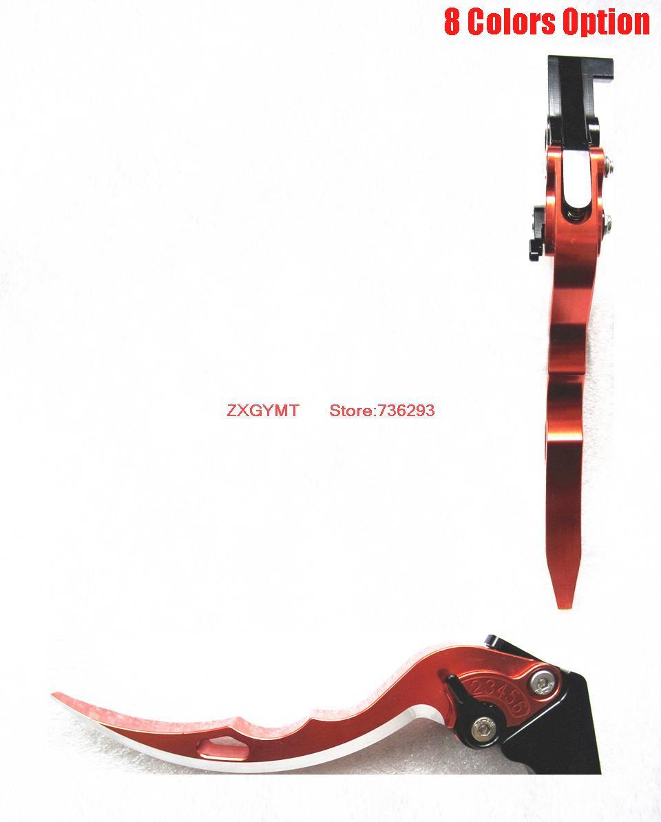 saber shape Motorcycle Brake & Clutch Levers fit Suzuki Gsxr 600 750 96 97 98 99 00 01 02 03 K1 Hand Lever Composite