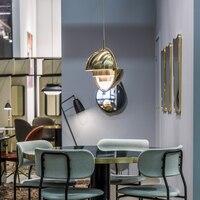 Датский дизайнер люстра, Современная Гостиная личность шлем, прикроватная тумбочка для спальни, металл Nordic ресторан свет