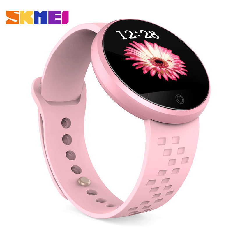 SKMEI 2018 Female Clock New Smart Watch Top Sleep Tracker Digital Smart Watches Physiological Cycle Ladies Wrist Watch Sport B36
