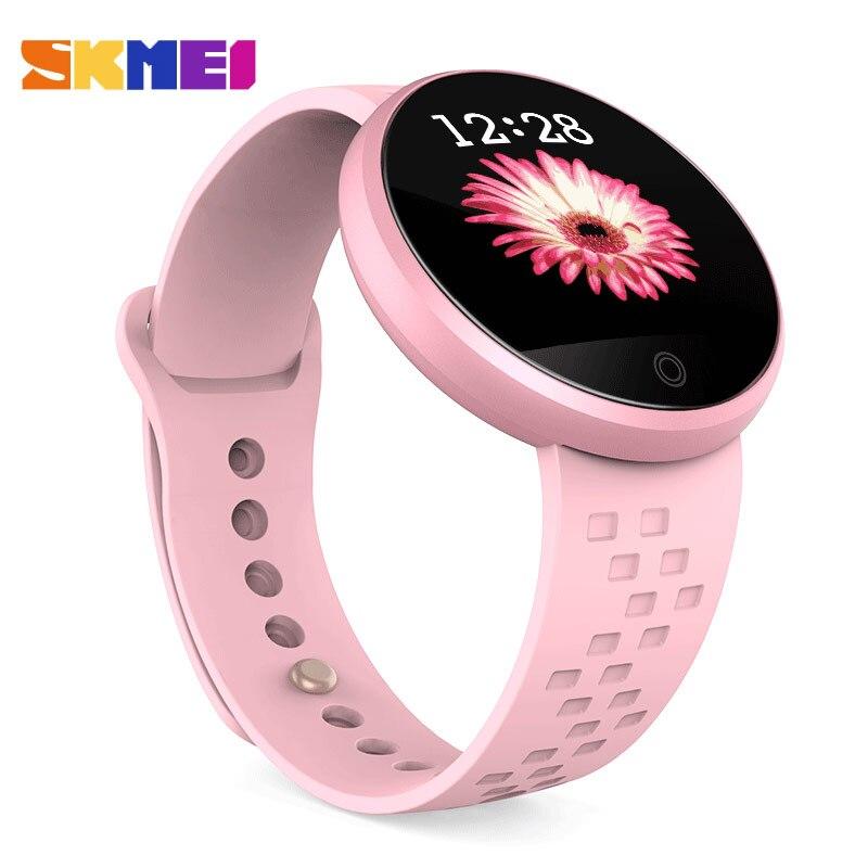 SKMEI 2018 Female Clock New Smart Watch Top Sleep Tracker Digital Smart Watches Physiological Cycle Ladies Wrist Watch Sport B36