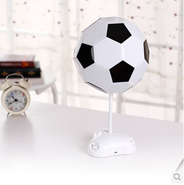 Colorful light diy football lampshade usbbattery power led table colorful light diy football lampshade usbbattery power led table lamps night light for boys kids beside room decoration in desk lamps from lights aloadofball Images
