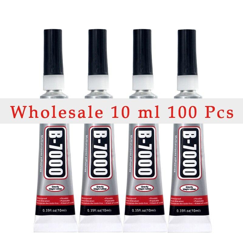 Wholesaler 10ML 100Pcs B7000 B 7000 Glue Adhesive 10ml