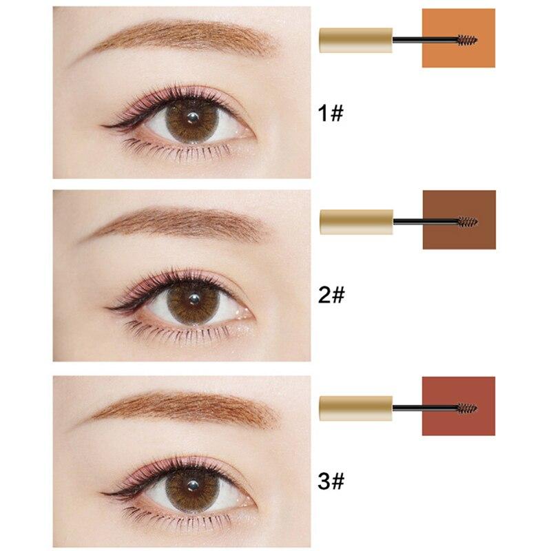 New KAXIER Brand Makeup Waterproof Henna Eyebrows Tint Gel Natural Brown Color Pigments Long Lasting Eye Brow Paint Cosmetics