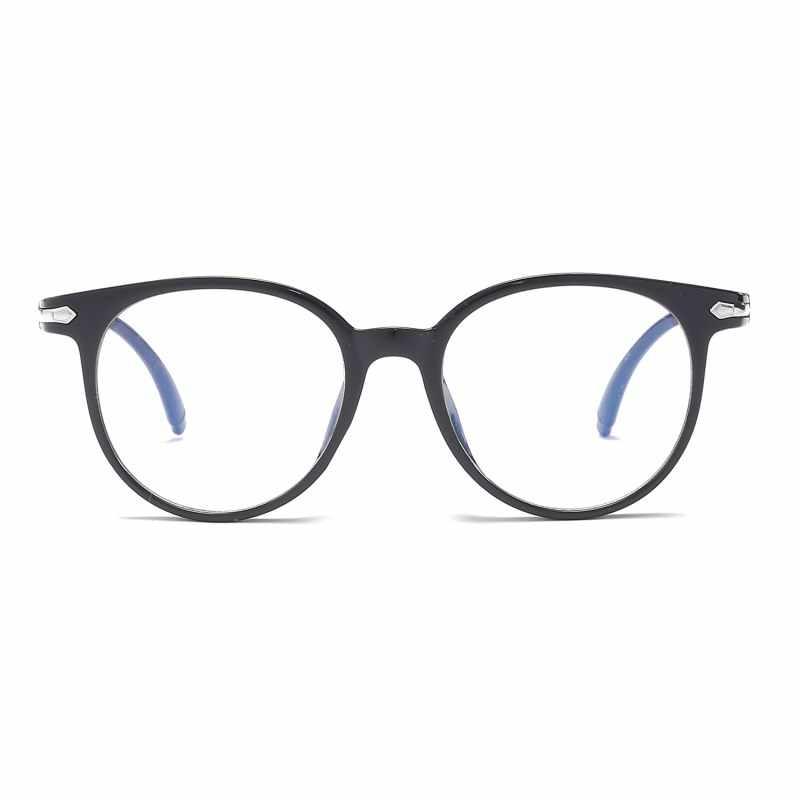 Gafas Unisex a prueba de Blu-ray para estudiantes temperamento gafas de cristal lisas para mujeres/hombres gafas SR080