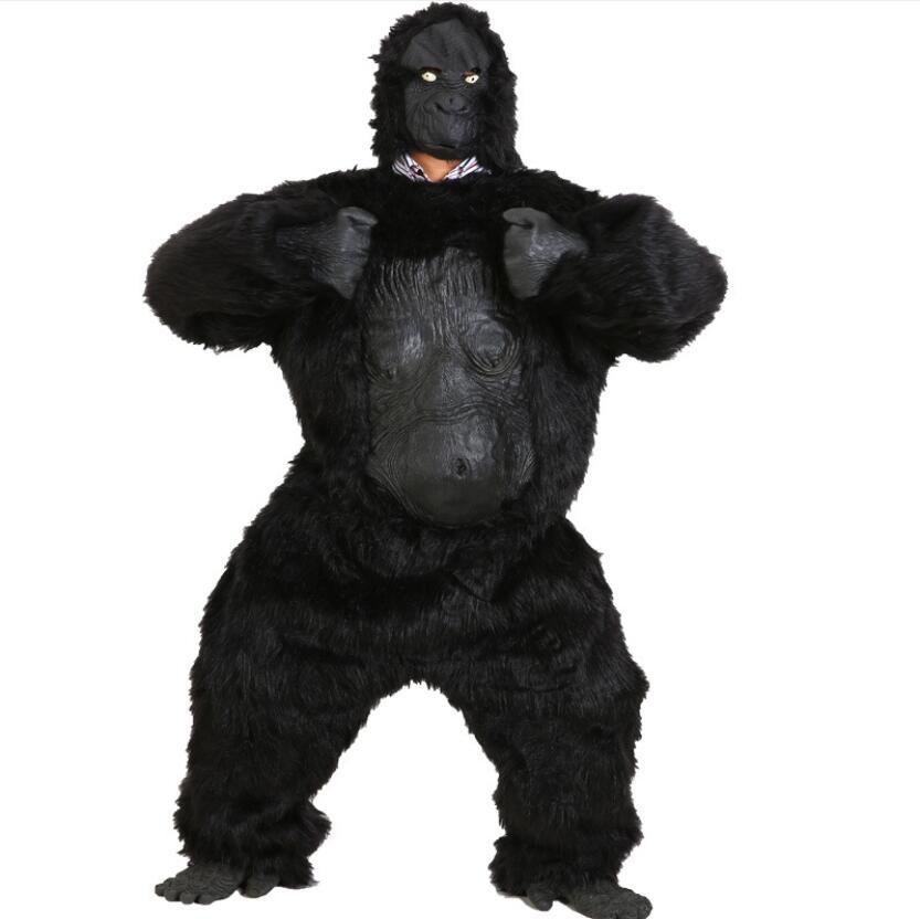 Gorilla Cosplay Costume Full Set Animal Halloween Stage New Fashion Costume Gift Collection Drop Ship