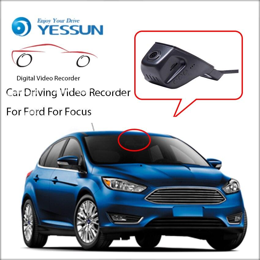 YESSUN voiture DVR conduite enregistreur vidéo pour Ford Focus automobile caméra de bord avant HD 1080 P pas arrière caméra arrière