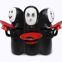 Дропшиппинг Унесенные призраками kaonashi нет-Уход за кожей лица копилку игрушка нескольких стилей Хаяо Миядзаки Тихиро дизайн автоматическое едят монет банка