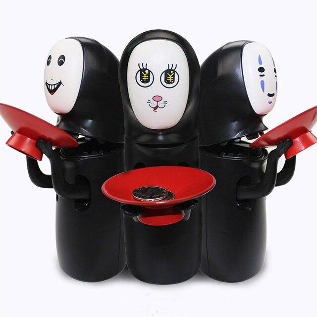 DROPSHIPPING. exclusivo. Chihiro ¡sin rostro sin-Cara de Banco juguetes de estilos Hayao Miyazaki Chihiro diseño automática comido banco de moneda