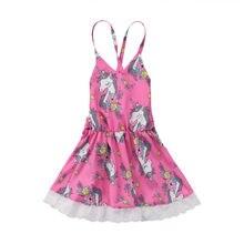 Милого для маленьких девочек Цветочный Холтер спинки Лето мини-платье с бантом для свадебной вечеринки платья принцессы сарафан Одежда