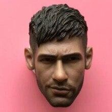 1/6 Neymar head sculpt Brazil soccer for hot toys phicen headplay zcwo DIY Toy