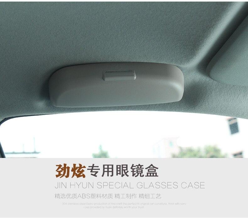 RIMIDI Auto Styling Sonnenbrille Halter Brillen Aufbewahrungsbox Fall Für Mitsubishi Asx Lancer 10 9 Outlander Pajero Auto Zubehör