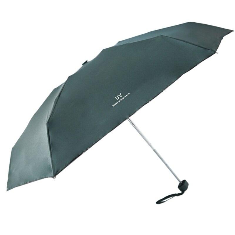 Ultra Light Mini Umbrella Sun Sunshade UV Protection Sombrilla for Rain and Sun Five Folding Umbrella Outdoor in Umbrellas from Home Garden
