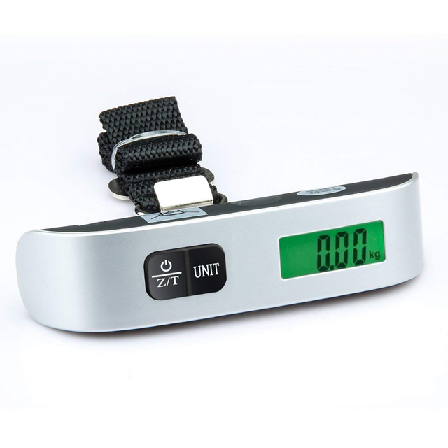 255ac6f54a52 US $1.35 50% OFF|Digital Luggage Scale 110lb/50kg mini LCD Portable  Electronic Hanging Scales for Suitcase Travel Bag Weight Weighing  balance-in ...