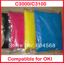 High quality color toner powder compatible for OKI C3000/C3100/3000/3100 Free shipping