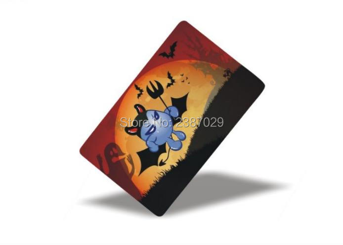 ISO11784/ISO11785 Printable 125Khz Low Cost Programmable RFID Card 1000pcs/lot iso