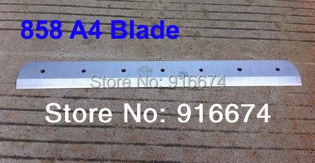 Fast free shipping Brand New Blade for 858 A4 Stack Paper Cutter free shipping 11 6inch brand new b116han03 0 b116han03