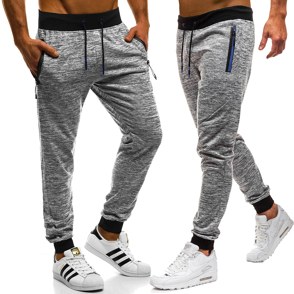 2019 Men's Athletic Pants New Fashion Athletic Pants Men's Casual Pants Jogger Stretch Pants High Quality