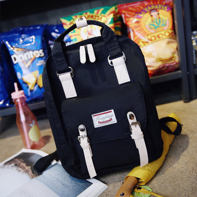 Женщины Холст Рюкзак 2017 модные брендовые женские рюкзак школьные сумки девушки путешествия Back Pack Портативный Bagpack Nbxq202