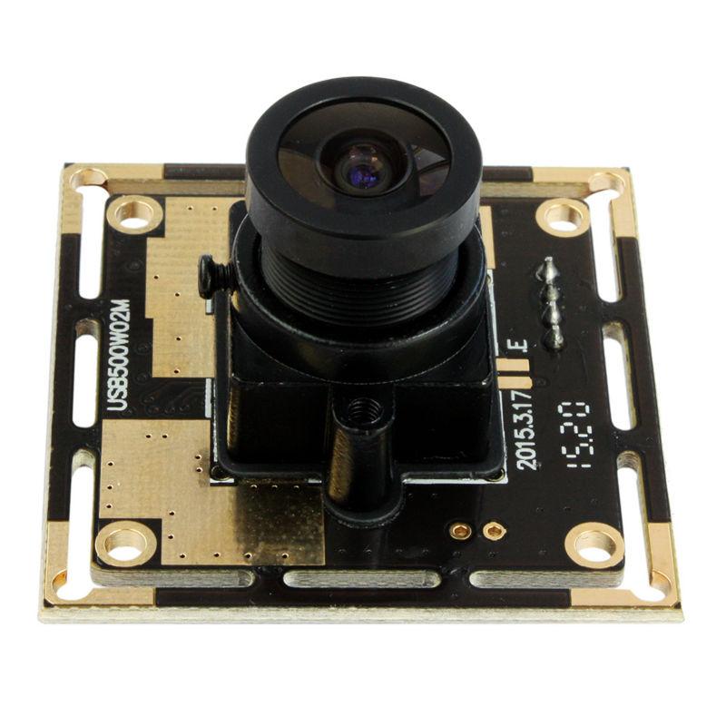 ELP 2.1mm Wide Angle Mjpeg 5megapixel Hd UVC Mini USB Webacm Cam 5MP OV5640 CMOS Camera Module for Robot Vision /Machine Vision