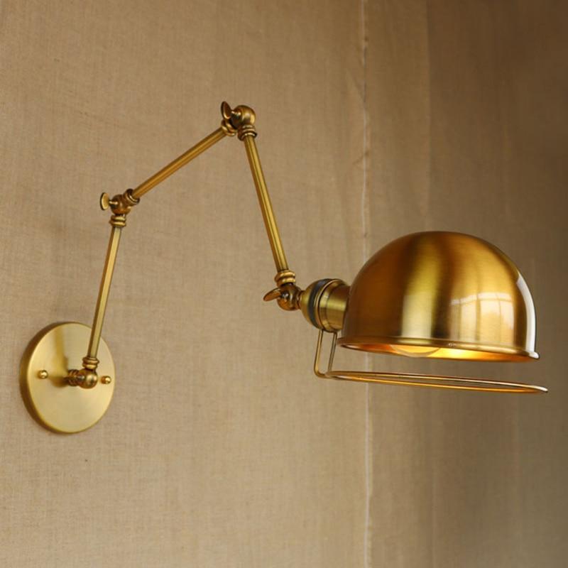 Lâmpadas de Parede loft industrial wall light bathroom Direção da Sombra : Acima & Abaixo