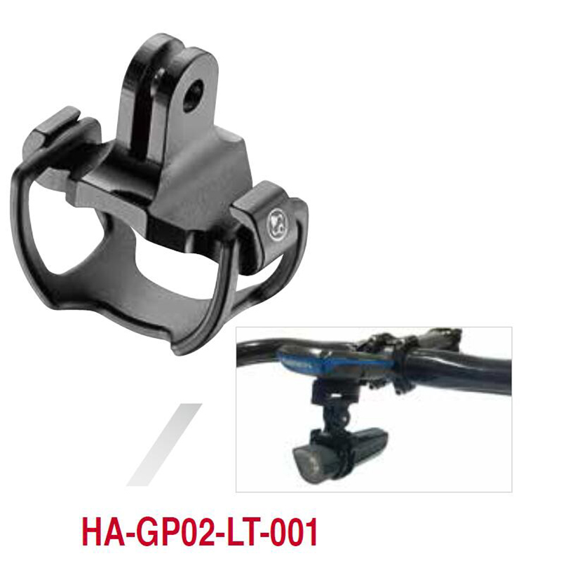 Bike Light Mount Holder For Garmin Bryton GPS Computer Mounnt With Gopro Camera Adapter Cateye Two Sizes Rubber Ring Universal