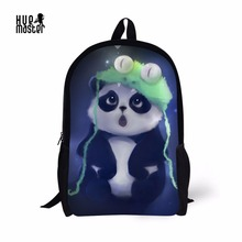 junior high school bag for teenager cute panda prints backpack for girls cartab;e scolaire fille cheap backpack for girls цена