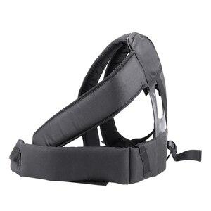 Image 4 - Accessoires de coupe dherbe Double harnais de bandoulière pour débroussailleuse avec panneau de Protection Confortable