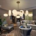 Современные хрустальные люстры волшебные бобы  светодиодные подвесные лампы  светильники для гостиной  ресторана  спальни  светильники  св...